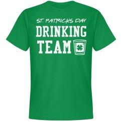 St Patricks Day Drinking Team