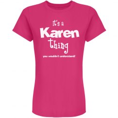 It's a karen thing