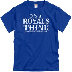 It's a Royals thing