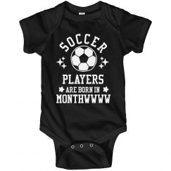 Soccer Players Are Born In Monthwwww
