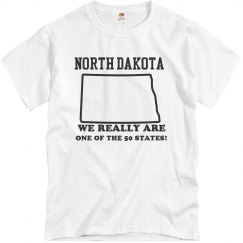 ND We Really Are A State!