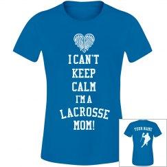 Lacrosse Mom Keep Calm