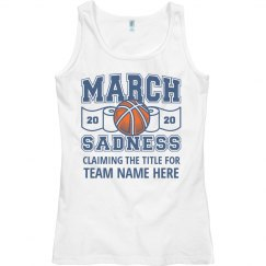 Claiming the March Sadness Title for Team Here