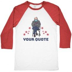 Stars & Sanders Custom Quote Tee
