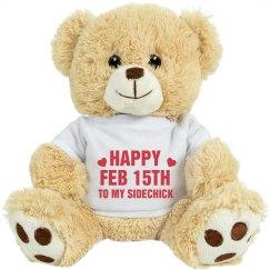 Feburary 15th Sidechick Day Gift