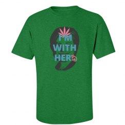 I'm with herb (Men's variation green/pink)