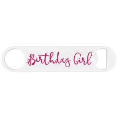 21st Birthday Girl Bottle Opener
