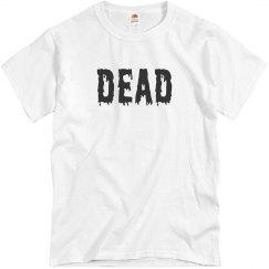 Dead Halloween Tshirt Men