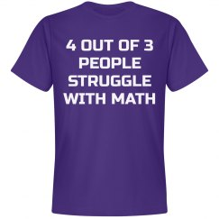 Struggle with Math