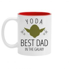 Yoda Best Dad In The Galaxy