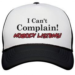 Can't Complain! Nobody Li