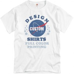 Custom Full Color Nasa Design