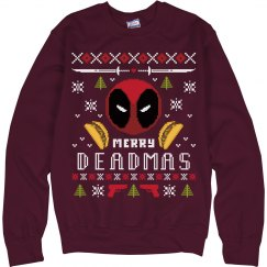 Winter Wonder Deadpool Sweater