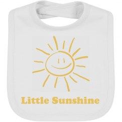 Little Sunshine Bib