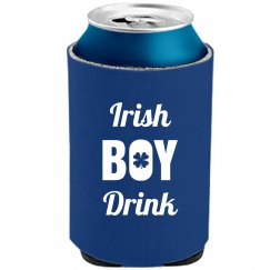 Irish Boy Drink St Patricks Day
