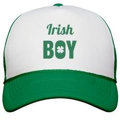 Irish Boy St Patricks Day Hat