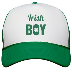 Irish Boy St Patricks Day Hat