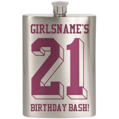 GIRLSNAME'S 21st Birthday Bash