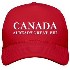 Canada Already Great Eh Maga-style Hat