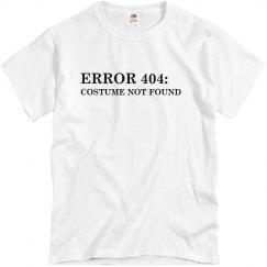 Costume Error 404