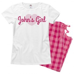 Custom Valentine's Day Pajamas Set