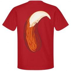 Furry Fox Tail T-Shirt
