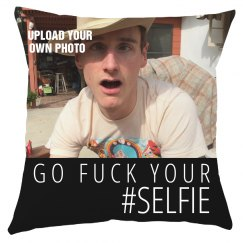Custom Photo Selfie Pillow