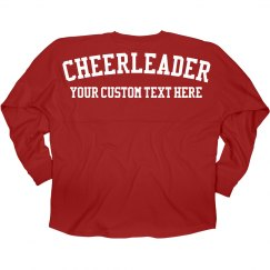 Cheerleader Custom Game Jersey