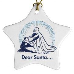 Jesus and Santa