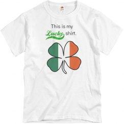 My lucky shirt