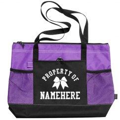 Property Of Namehere Cheerleader