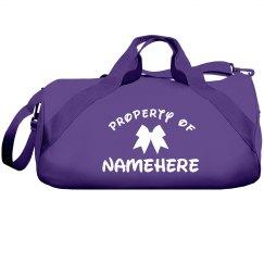 Cheerleader Property Of Namehere