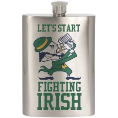 Drunk Fighting Irish Spoof Logo