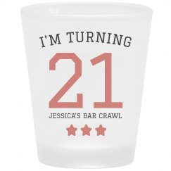 My Custom 21st Birthday Bar Crawl