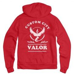 Team Valor Custom Hoodie
