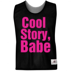 Neon Cool Story Babe