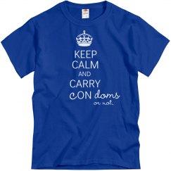 Keep Calm Carry Condoms