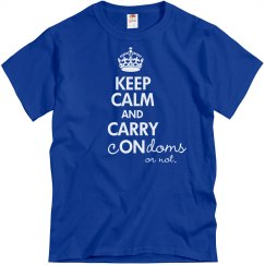 Keep Calm Carry Condoms