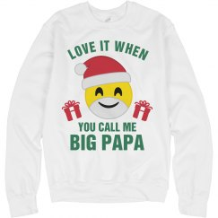 Christmas Emoji Big Papa