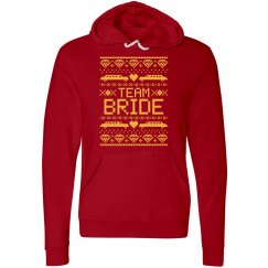Team Bride Hoodie Ugly Christmas