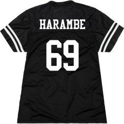 Harambe 69 Women's Jersey