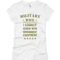 Olive Military Wife's Equipment