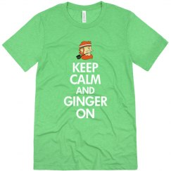 Keep Calm And Ginger On St Pats