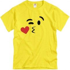 Funny Emoji Kissy Face 1 Costume