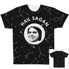 Hail Sagan & Stars All Over Print