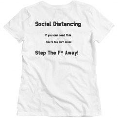 Social Distancing woman