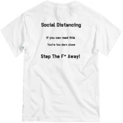 Social Distance -Step Away