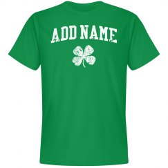 Add the Irish name shirt