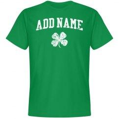 Add the Irish name shirt