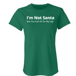 Not Santa's Lap